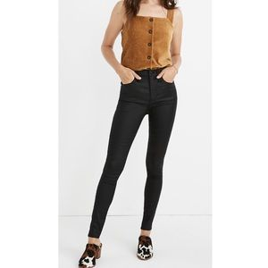 Universal Thread Coated High Rise Skinny Jeans